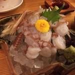 遊山魚料理 - 生タコ