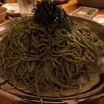 遊山魚料理 - 茶そば