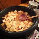 中村橋の漁師のあぶり家 - 惣菜バイキングの麻婆豆腐