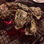かき焼き小屋 一 - 三重県産カキのあみ焼き