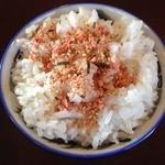 笑麺 - しょうゆらー麺 小ライス 2013年12月