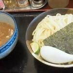 22965231 - 131129神奈川 甍 濃厚煮干しつけ麺(大)800円