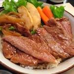 22965244 - ステーキ牛丼 松坂肉