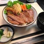 22965247 - ステーキ牛丼 松坂肉