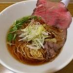 ましこ亭 - 和牛蕎麦(醤油)780円