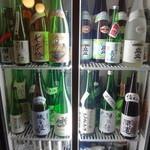 酒坊 上燗や - 冷蔵庫