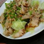 2297317 - 豚肉の四川風ピリ辛定食