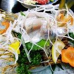 料理旅館 金松館 - 鮎の刺身