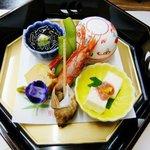 料理旅館 金松館 - 前菜