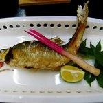 料理旅館 金松館 - 鮎の塩焼き