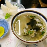 料理旅館 金松館 - 鮎の雑炊