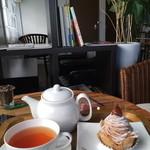 ミティーク - 和栗のモンブランと紅茶