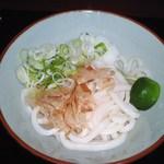 さぬきうどん 釜八 - 醤油うどん(03.7)