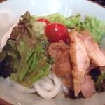さぬきうどん 釜八 - 冷サラダうどん(08.6)
