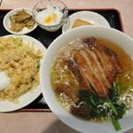 盛香園 - パーコー麺セット