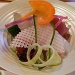食彩夢 まほら - お造り(lunch)12月