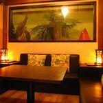 ボラボラ - 南国リゾートのような隠れ家的個室は全13室♪カラオケ付個室の中には熱帯魚が泳ぐ【円形水族館】の個室もあるよ♪