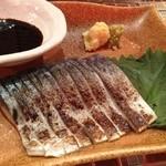 おばんざいバー 博多漁家 しらすくじら - 炙りしめ鯖♫