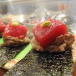 鮨よし - マグロと自然薯