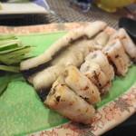鮨よし - 穴子の白焼き
