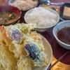 本田 - 料理写真:魚いっぱい天ぷら定食(1,000円)