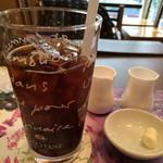 ロクシタンカフェ - プロヴァンスランチのアイスコーヒー