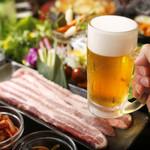 韓美食 オンギージョンギー - 美味しい韓国料理でお酒もすすみます♪