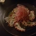 新横浜ラントラクト カフェ&ダイニング - たこのカルパッチョ