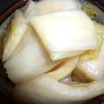 西利 - 量もたっぷり「柚子こしょう白菜(578円)」