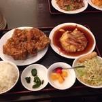 美味鮮 - 唐揚げ定食980円