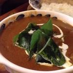 茶豆 - 牡蠣カレー
