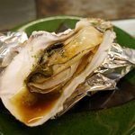 てんてこ - 殻付き牡蠣の鉄板蒸し