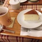 ミル - ココアとチーズケーキ