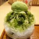 京はやしや - 宇治氷あんみつ(1050円・小盛り)
