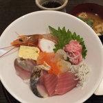 魚菜亭 - ランチ 海鮮丼