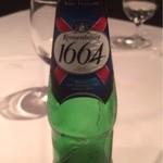 22984772 - フランスのビール。クローネンブルグ(650円)。