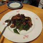 長光 - なすびの桂林炒め?