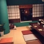 日本酒バー じう - こじんまりとした店内