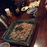 日本酒バー じう - M氏が注文した〆の出雲そば