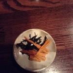 日本酒バー じう - ばちこ ← 珍味で酒のアテに合う 初トライ