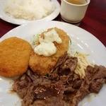 ロイヤルエイト - A定食 700円 2013年