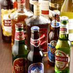 ナマステ タージ・マハル - インドの珍しいビールもたくさんあります
