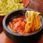 節系とんこつらぁ麺 おもと - トマトつけ麺