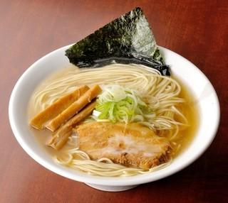 節系とんこつらぁ麺 おもと - 和風煮干しらーめん