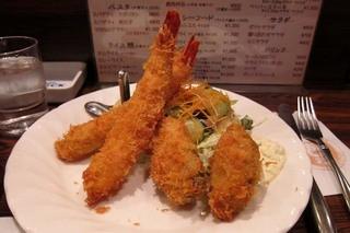 キッチン チェック - 海老とかきのミックスフライ