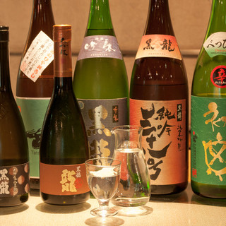 季節ごとにおいしい日本酒が楽しめます!