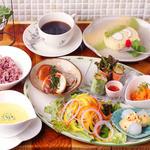 森カフェ - ランチ(お野菜畑ランチ)1050円