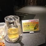 天然温泉 青葉の湯 ドーミーイン仙台ANNEX - ウェルカムドリンク(とうもろこしのひげ茶)