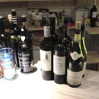 30種類以上のワイン