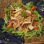2299253 - 鮮魚と湯葉のカルパッチョ 900円
